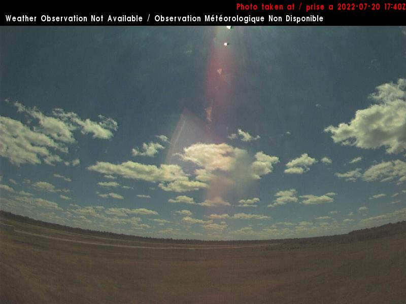 Web Cam image of Miramichi Airport (South)