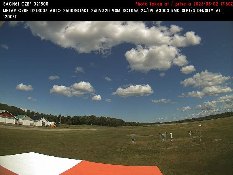 Web Cam image of Bathurst Airport (East)