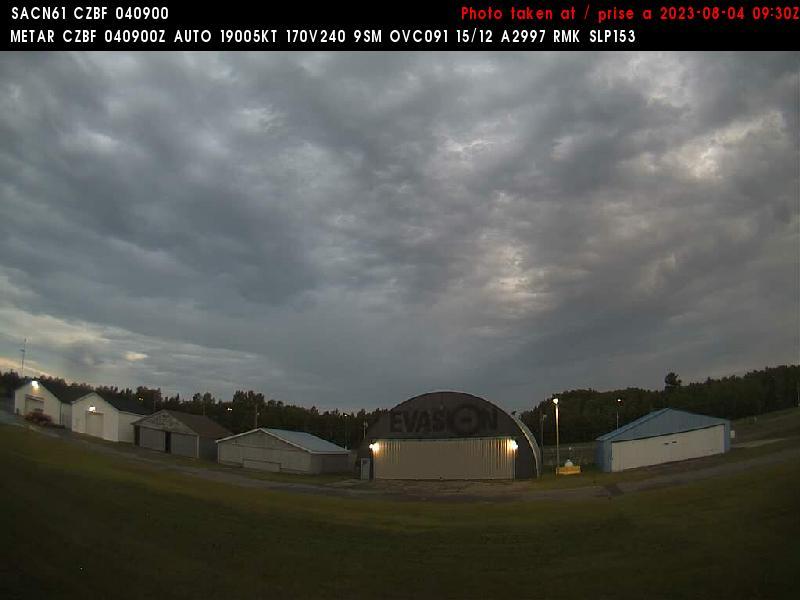 Web Cam image of Bathurst Airport (North)