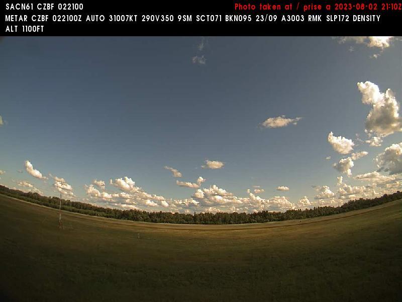 Web Cam image of Bathurst Airport (South)