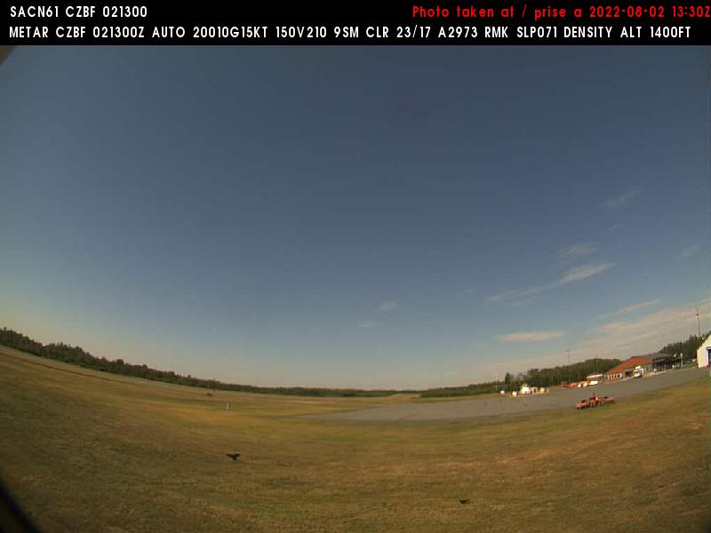 Web Cam image of Bathurst Airport (West)