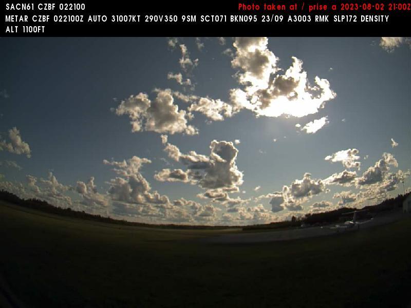 Web Cam image of Bathurst Airport (West)