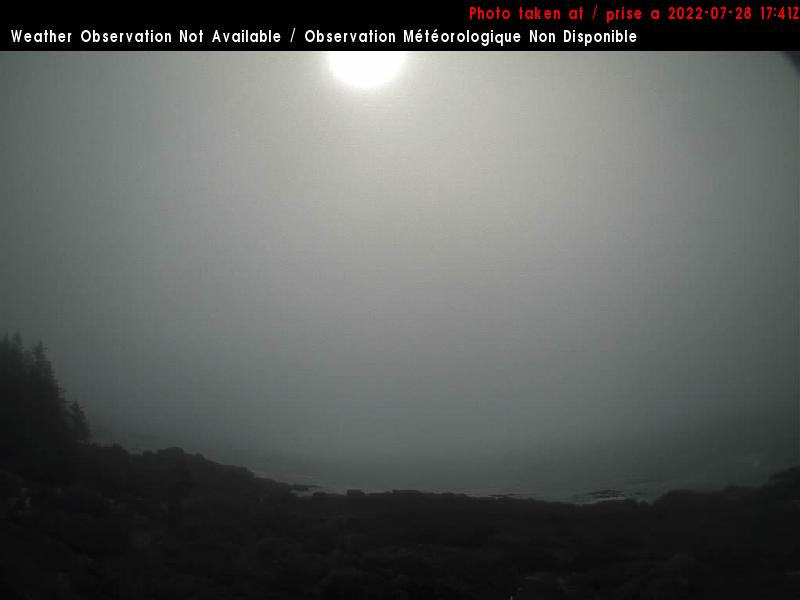 Webcam - Amphitrite Point Lighthouse - near Ucluelet - SouthEast